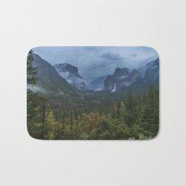 Yosemite Tunnel View Bath Mat