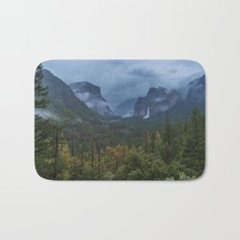 Yosemite Tunnel View Bath Mat