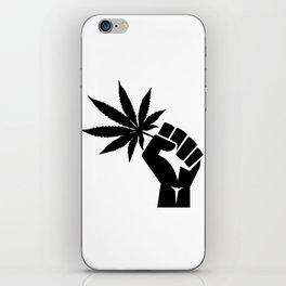 Veterans for Cannabis iPhone Skin