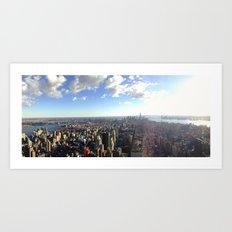 The City Art Print