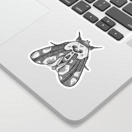 dot moth Sticker