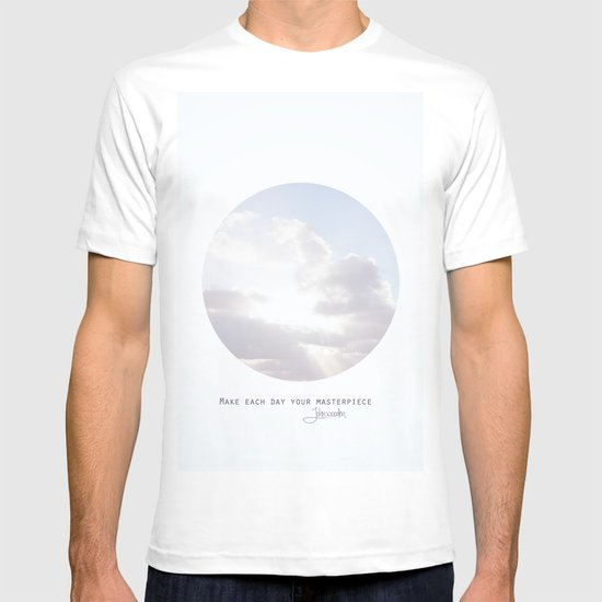 Make Each Day Your Masterpiece I T-shirt