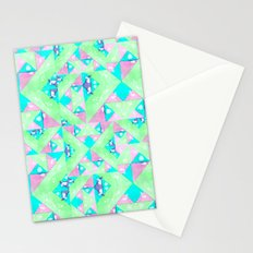 Geo Texture Stationery Cards