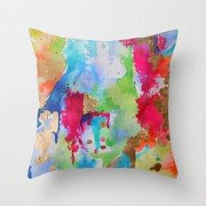 Lisa Print Throw Pillow