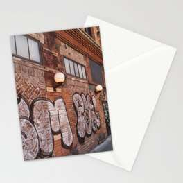 East Village Streets III Stationery Cards
