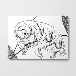 Water Bear Metal Print