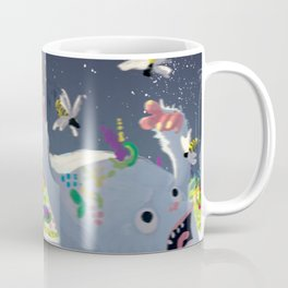 Eternal Birthday Unexpected Guests Coffee Mug