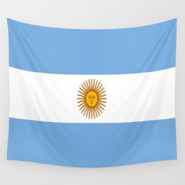 Flag of argentina -Argentine,Argentinian,Argentino,Buenos Aires,cordoba,Tago, Borges. Wall Tapestry