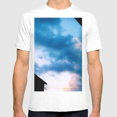 Cloud Study PT3 MEDIUM Mens Fitted Tee White