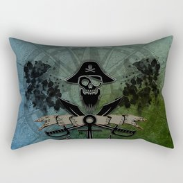 Pirate design, a pirate's life for me Rectangular Pillow