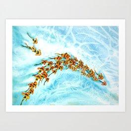 WaterColor Fish #2 Art Print
