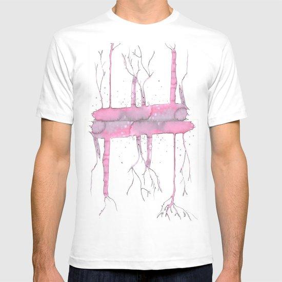 Pink trees T-shirt