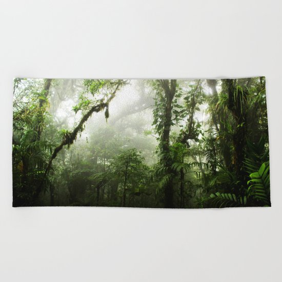 Cloud Forest Beach Towel