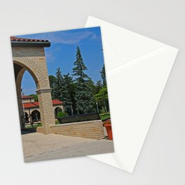 Lourdes University in the Spring II Stationery Cards