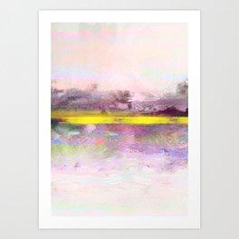 golden sunshine Art Print