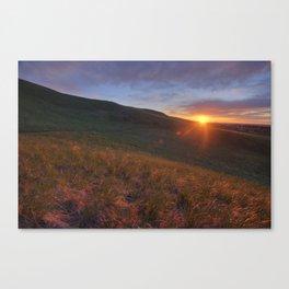 Chasing the Sunrise Canvas Print