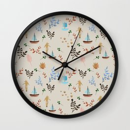 KURBITS PATTERN Wall Clock