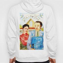 Frida Kahlo and Diego Rivera Hoody