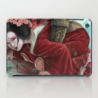 sakura iPad Cases featuring Sakura by Claudia SGI