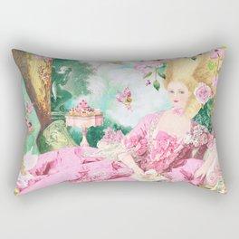 Marie Antoinette Garden Party Rectangular Pillow