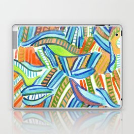 Bent and Straight Ladders Pattern Laptop & iPad Skin