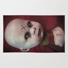 Creepy Gothic Zombie Baby Doll  Rug