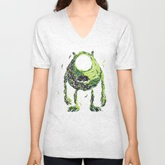 Wazowski of Fish Unisex V-Neck