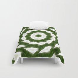 Green White Kaleidoscope Art 5 Comforters