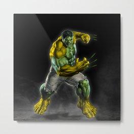 Fusion Hero Metal Print