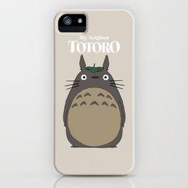 となりのトトロ iPhone Case