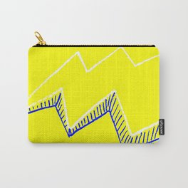 Yellow Volt Lightning Carry-All Pouch