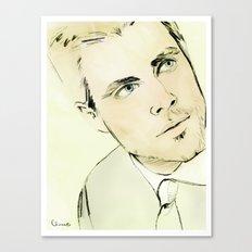 Arrow Portrait Series: Oliver Queen Canvas Print
