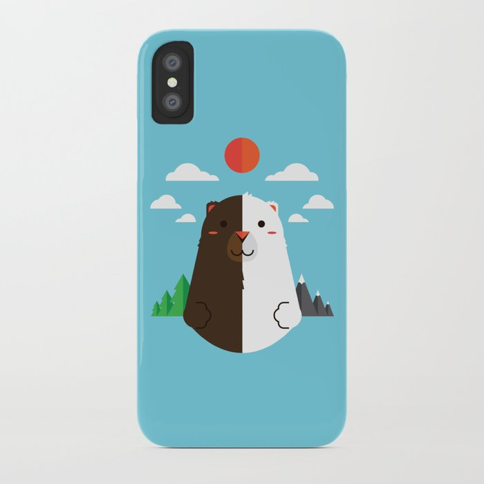 Grizzly & Polar iPhone Case