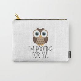 I'm Hooting For Ya! Carry-All Pouch