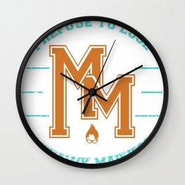 MM v.2 Wall Clock