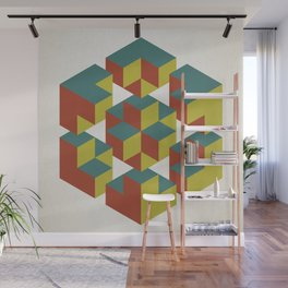 Impossible Geometry Wall Mural