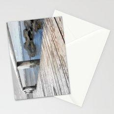 Jetty at bridgewater Stationery Cards