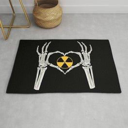 Rad Tech X Ray Skeleton Radiology Technican Gift Rug