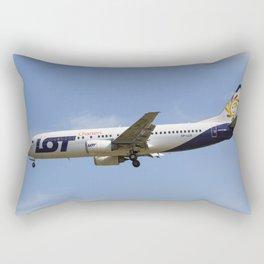 Lot Boeing 737 Rectangular Pillow