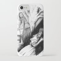les mis iPhone & iPod Cases featuring Les Mis From A Beginning To An End - Cosette by Flávia Marques