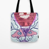friday Tote Bags featuring Friday by Andon Georgiev