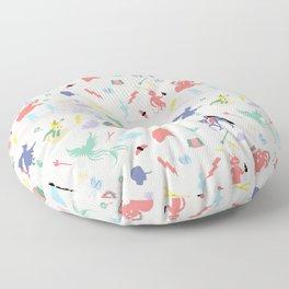 Mythological pattern Floor Pillow