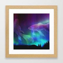 Walden Fish Framed Art Print