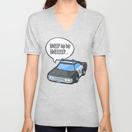 Look out! Unisex V-Neck