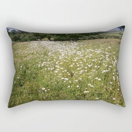 Path of Daisies Rectangular Pillow