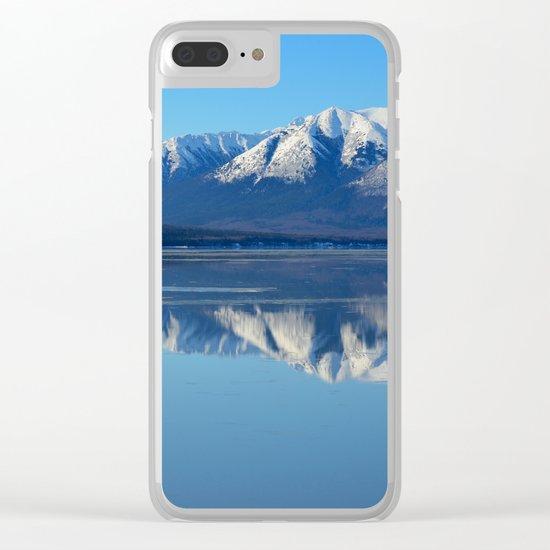 Turnagain Arm Mirror - Alaska Clear iPhone Case