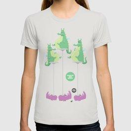 Dragons Ride Rhinos T-shirt