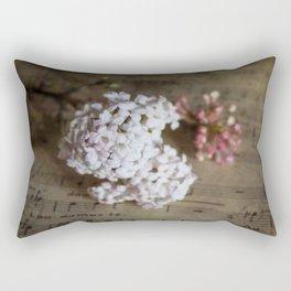 Flowers and music Rectangular Pillow