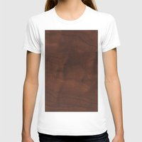 wood T-shirts featuring Wood by Adoryanti