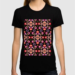 Fiesta Folk Purple #society6 #folk T-shirt
